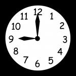 wall_clock_nine